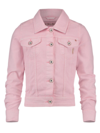Girls  Denim Jacket-Vingino-Baby Pink