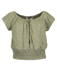 Blue Seven-Girls knitted T-shirt -Tea orig
