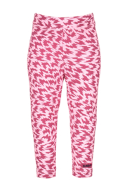 Baby girls flame aop legging-B.Nosy-Rose- Sorbet flame