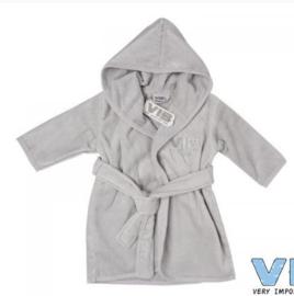 VIB.-Unisex Badjas VIB'-Grey-Silver