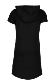 B.Nosy-B.Yourself hoodie dress-Black