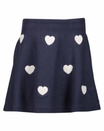 Kids Girls knitted skirt- Blue Seven- Dk Blau orig