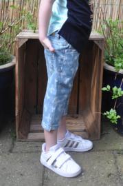 Blue Seven-Kids Girls woven jeans capri-Jeansblue aop orig