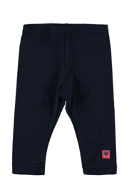 Baby Girls legging plain -Bampidano-Navy