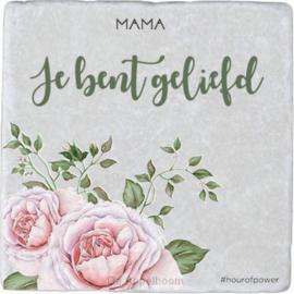 Tegel Mama  je bent geliefd-CBC- Rose