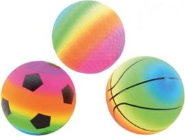 CW-Regenboogbal maat 5 -Multi color