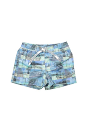 DJ Dutch Jeans-Boys Swimshort photo print- Aqua print