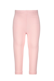 Baby Girls legging Coco plain/allover print-Bampidano-light pink