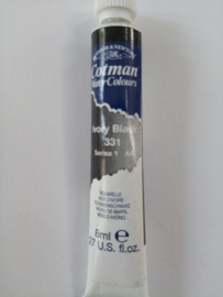 W&N Aquarelverf Tube Ivor Black