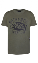D-Xel-Boys T-Shirt Benson 014 -Army green