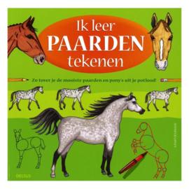 Deltas-Ik leer paarden tekenen- Green