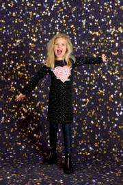 Girls Dress Loulou- OChill- Black
