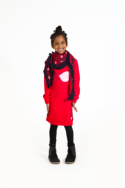 Girls Dress- OChill- Red