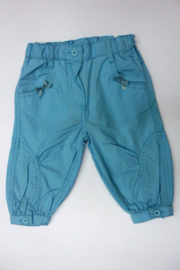 Mini Girls Trousers.- Blue Seven- Turquoise