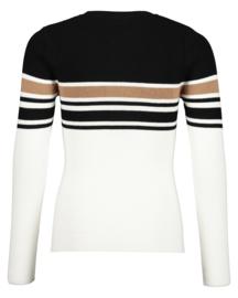 Blue Seven-Girls knitted pullover Basic-Off white orig