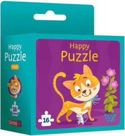 Deltas-Happy puzzle - Poes -Blue