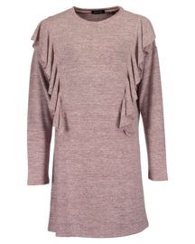 Girls knitted dress- Blue Seven- ROSE
