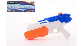 Aqua Fun  Waterpistool space super watershooter +/- 32cm-C- Wit/blauw/oranje