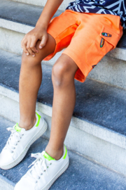 BChill-Boy's Short Jogpants Seb-Orange