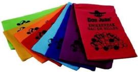 C.W.-Don Juan Knikkerzak bedrukt - 1st. - multi color