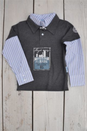 Boys Shirt Milco- SCompagny- Grey