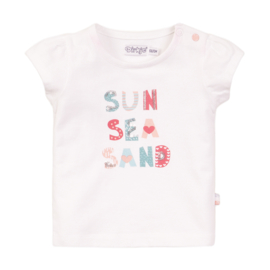 Dirkje-Girls T-shirt ss -White