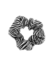 Girls zebra scrunchie-B.Nosy-Black-Dazzle zebra
