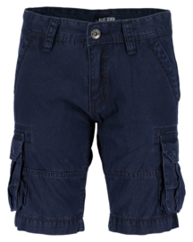 Boys woven bermuda-Blue Seven- Night blue orig