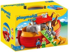 C.W.-Playmobil 1.2.3  Meeneem Ark  van Noach 6765- Multi Color