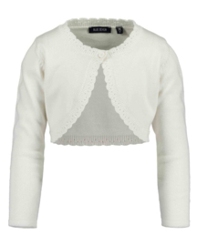 Blue Seven-Kids Girls knitted bolero-BASICS -white orig