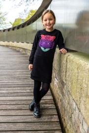 OChill-Girls Dress Jorien-Black