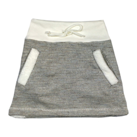 Girls Skirt Katya Lurex- Porto Azul - wit