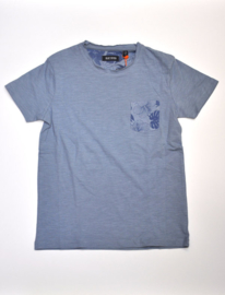 Boys T-Shirt - Blue Seven-Blue