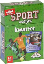 Identity Games-Kwartet Sport-weetjes - Kaartspel-Green