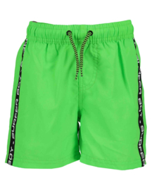 Blue Seven-Kids Boys woven beach bermuda-Kids Boys Basic-Neon GreenIG