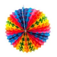 Lampion rond doorsnee 20 cm-C-Div kleuren