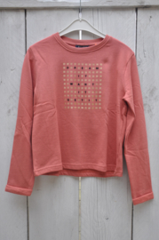 Girls knitted sweatshirt -Blue Seven- Brick