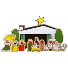 Bambolino Toys-Bruna Kerststal (Nijntje) (kerst/ winter 2021)-Multi Color