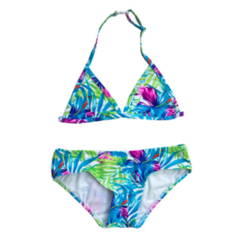 Girls Bikini 	Cherry-Just Beach- blue
