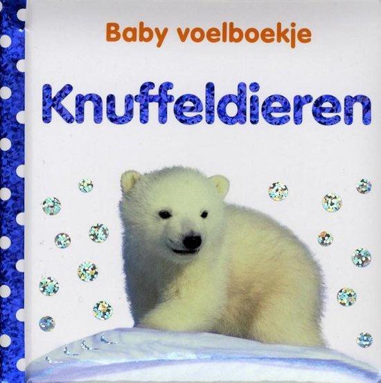 Baby voelboekje Knuffeldieren-CBC-Wit