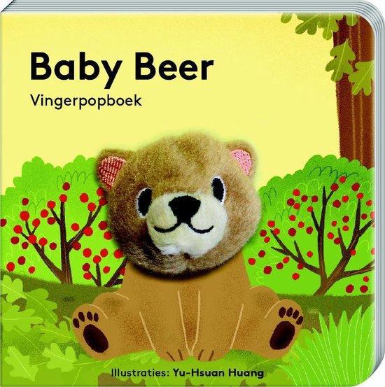 Vingerpopboek - Baby Beer - Image books - Div. kleuren