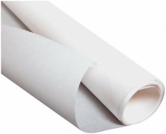 Haza Patroonpapier wit - 10 x 1 meter-C.W.-White