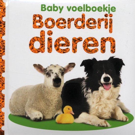 Baby voelboekje Boerderij dieren-CBC-Wit