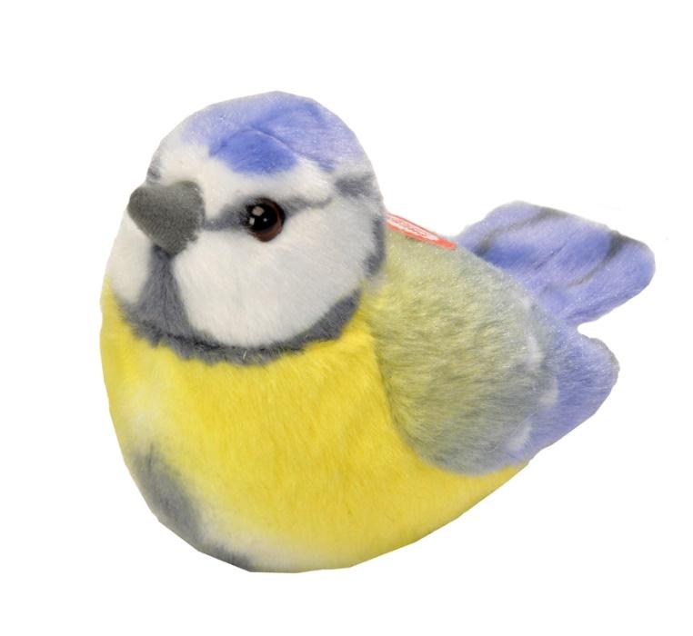 Trendzz-Vogels met geluid-Pimpelmees-Blue it