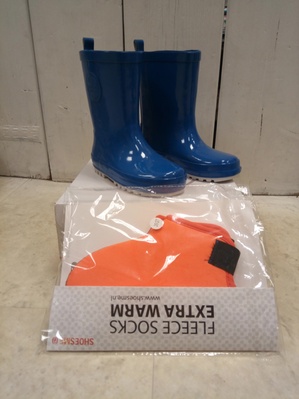 Unisex Shoesme regenlaars-Schoesme- kobaltblauw