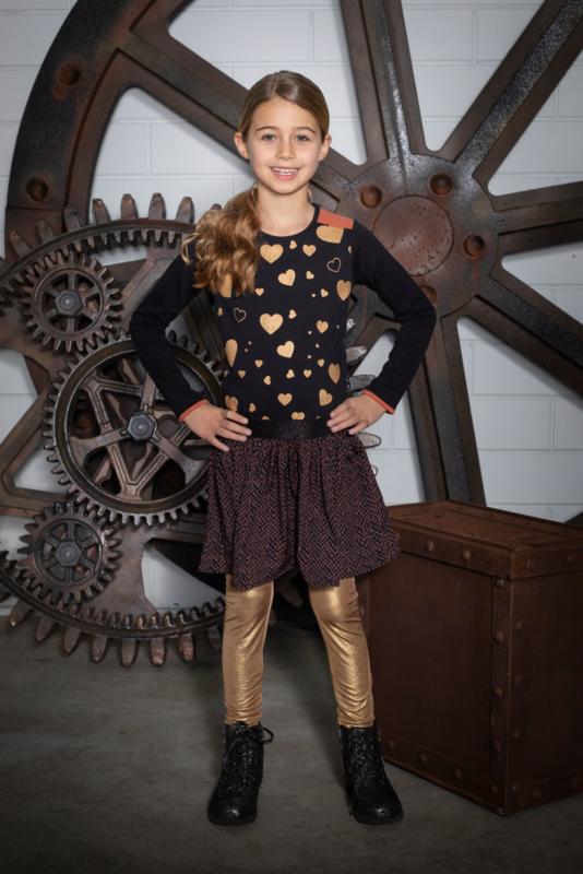 Lovestation22-Skater Dress Noa (woven)-Brown