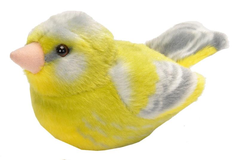 Trendzz-Vogels met geluid-Groenling-GreenFinch-Green
