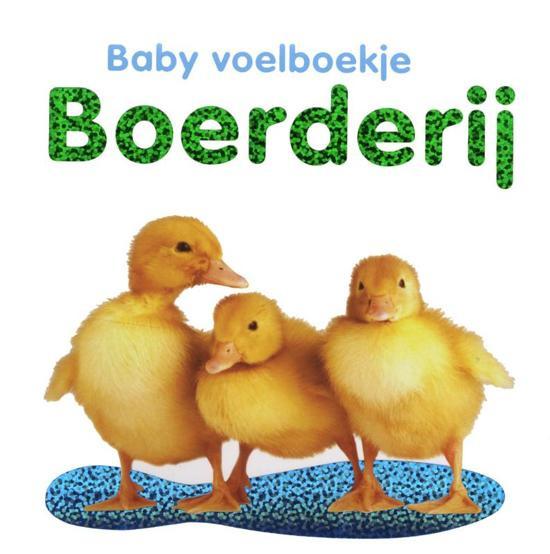 Baby voelboekje Boerderij-CBC-Wit