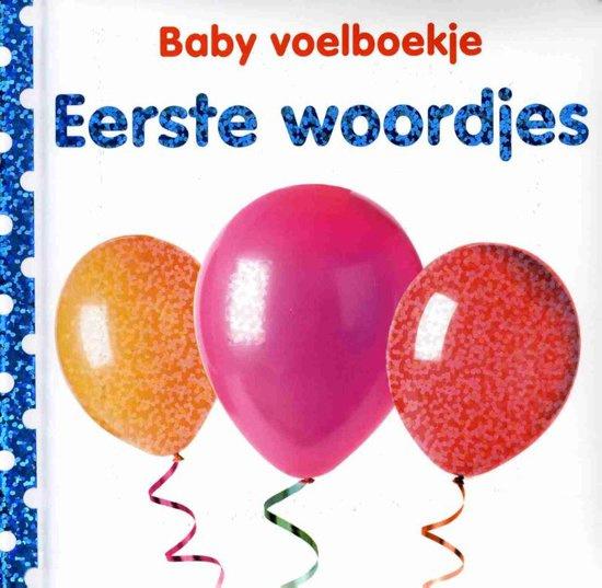 Baby voelboekje Eerste woordjes-CBC-Wit