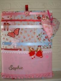 Haarknipjesbord Pippie roze